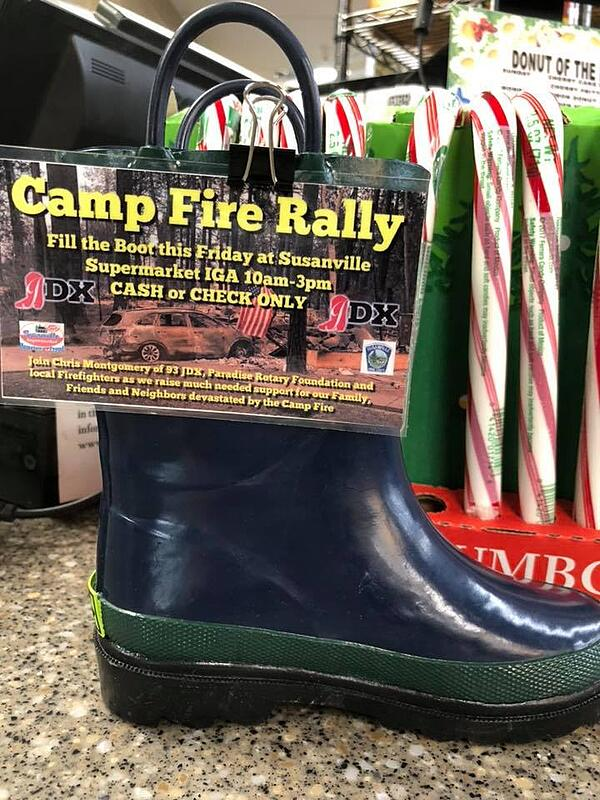 Camp Fire Rally Promotion