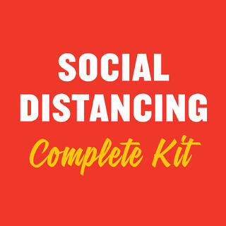 IGA Social Distancing Kit