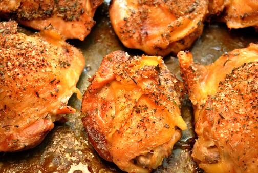 Herb baked chicken