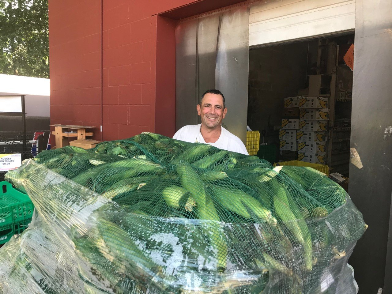 Geisslers fresh corn