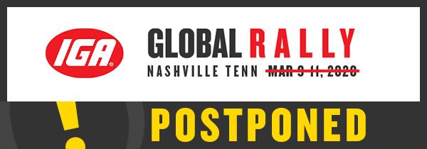 Global Rally Postponed