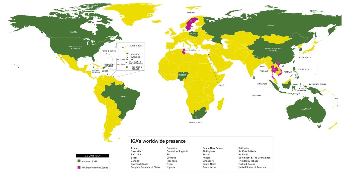 IGA Global Map