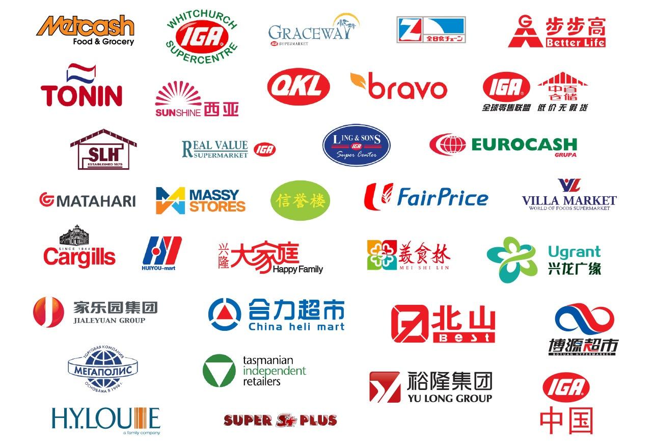 IGA Global Partnership Logos