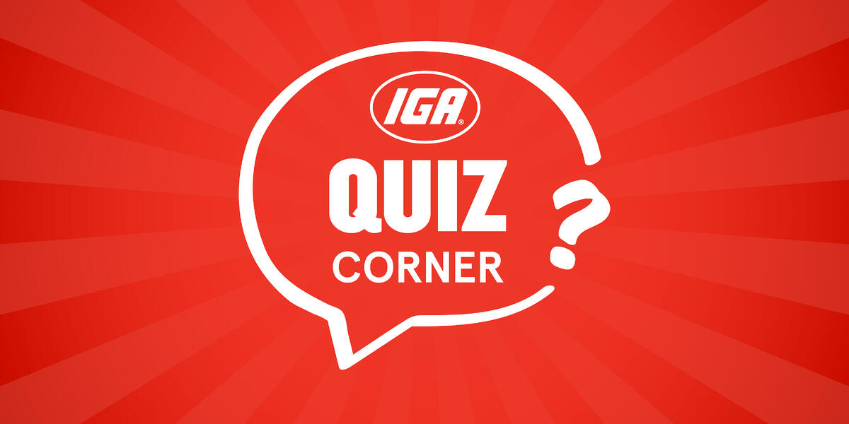 IGA Quiz Corner