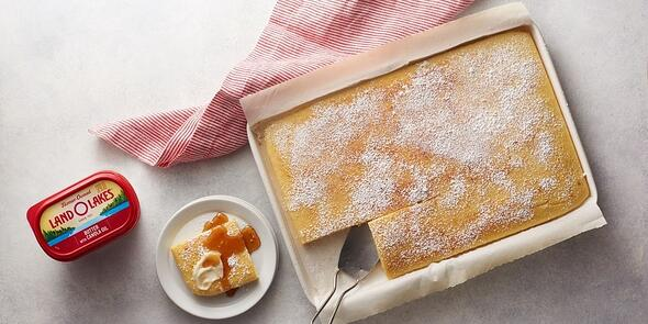Land O'Lakes cake with butter