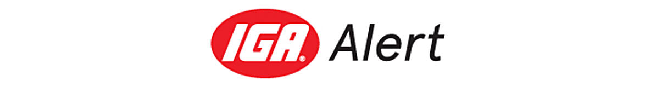 IGA Alert logo
