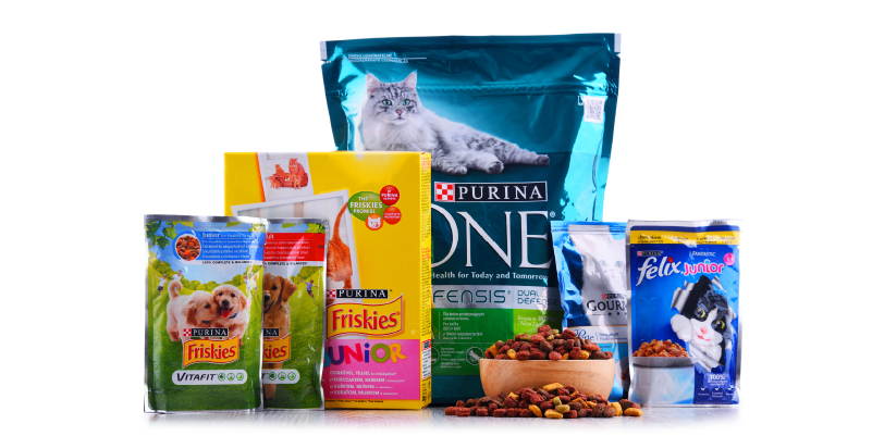 Purina Cat Food Variety