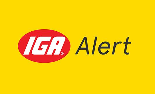 IGA Alert
