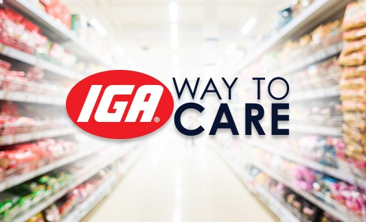 IGA Way to Care logo