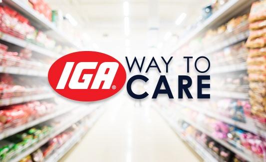 IGA Way to Care logo