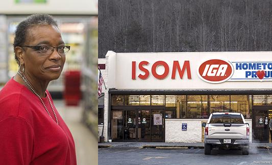 IGA Retailer Gwen Christon