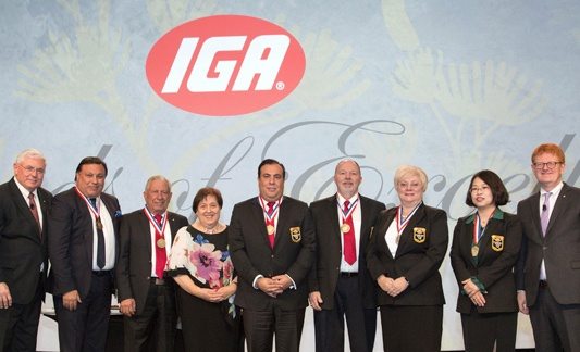 IGA celebrating independent grocers