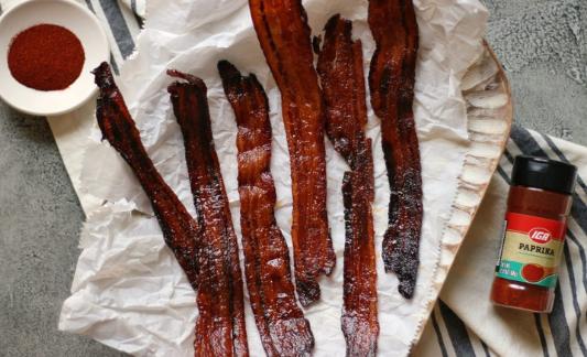 Coca-Cola Candied Bacon