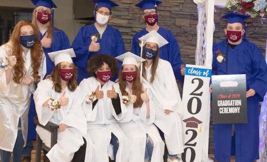 Geissler's Salutes 2020 Graduates with Surprise Ceremony