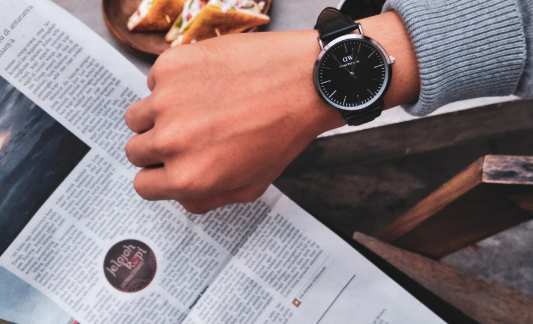 The Branding Effect (a man's watch in the photo)