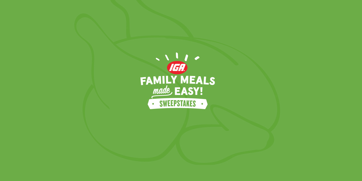 Family Meals Made Easy Sweepstakes and Instant Win Game