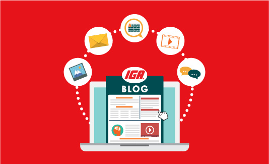 Shopper Blog Content
